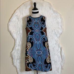 Maggy London Paisley Print Dress
